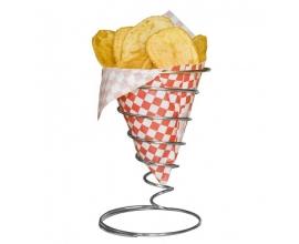 Cesta para fritos americana Espiral