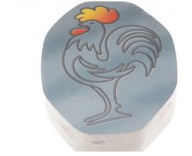 Tapa cartón envase pollo ovalado  (100 uds.)