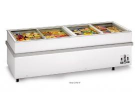 Congelador frigorífico puerta corredera EUROFRED