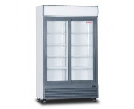 ARMARIO EXPOSITOR REFRIGERADO DOBLE CON DISPLAY LUMINOSO LGD-1100S