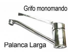 Grifo mono-mando de palanca larga